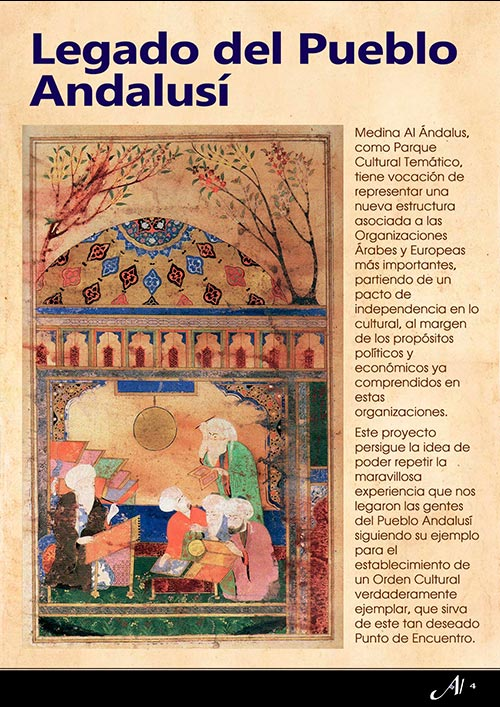 legado de unos andaluses que un nuevo orden cultural