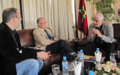 Presentación de Medina al Andalus a la municipalidad de Tánger