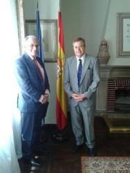 Reunión con el Cónsul General de España en Tánger